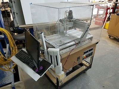 1.5KW 3 AXIS 6040 CNC Router Engraver Machine VFD gecko