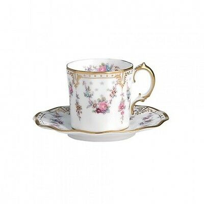 Royal Crown Derby Royal Antoinette cup saucer
