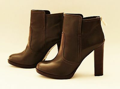 Womens New TORY BURCH ankle boots 9,5 M booties shoes heels Equestrian leather