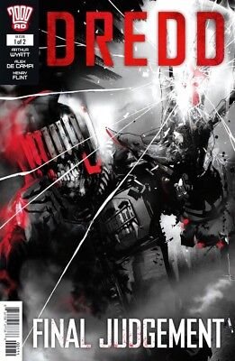 Dredd Final Judgement # 1 / Jock Cover / Rebellion / Sep 2018 / N/m / 2000Ad