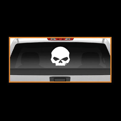 Harley Davidson Rear Window Willie G Skull Decal * Made In The Usa - Lws