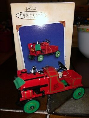 Hallmark Keepsake Ornament 1928 Jingle Bell Express 2002 New