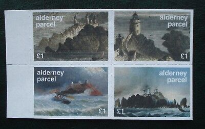 """Guernsey, Alderney. """"Old Engravings Of The Casquets Lighthouses"""". 1st Oct 2001"""