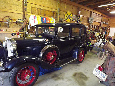 1931 Ford Model A  1931 Ford Model A Town Sedan Restomod V6 P/S Juice brakes Automatic