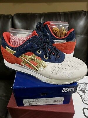 12 Boston Navy Gel 3 Tea Asics Used Red Size Concepts Iii Lyte Party FcK1lTJ