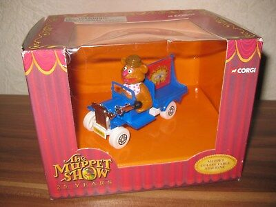 The Muppet Show 25 Years Corgi Modellauto - Fozzie Bär Bear's Car - New Ovp Rar
