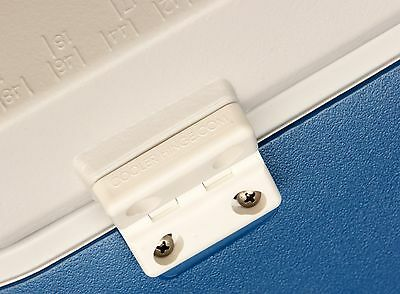 Cooler Shield Replacement Hinges for Rubbermaid Coolers Models - 2 in Pack