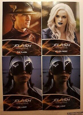 The Flash DC Season 2 Tv series card lot of 4 insert cards