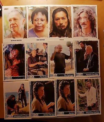 Rittenhouse ABC Lost Insert Card Lot of 12 Cards
