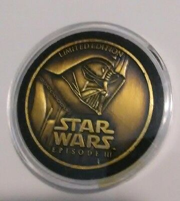 Star Wars Episode III Revenge of the Sith Limited Edition Collector Coin 2005