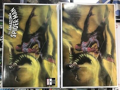 AMAZING SPIDERMAN 2 vol 5 2018 DELL OTTO IGC VIRGIN VARIANT 2 PACK SET NM