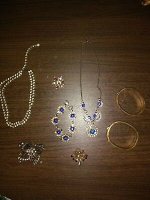 Jewelry Costume/Vintage necklaces, bracelets, & brooches, oh my!