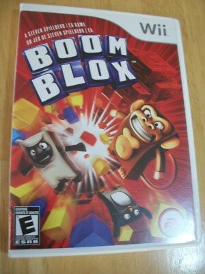 Boom Blox -- Nintendo Wii Game -- C+ CONDITION