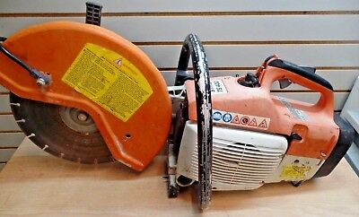 Stihl TS400 Concrete Cut-Off Saw (Works, Please Read)
