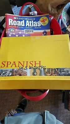 Learn SPANISH In 3 Months 3 Audio CDs