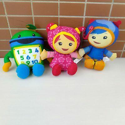New Style Milli Geo Bot Dolls Team Umizoomi Counting City's Little Brother And