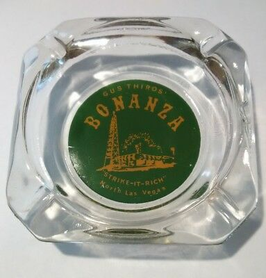 Gus Thiros Bonanza Casino N. Las Vegas, Nevada Vintage Vault Ashtray!