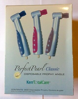 PERFECT PEARL CLASSIC Disposable Prophy Angles 200/BX Kerr Total Care #10-9510