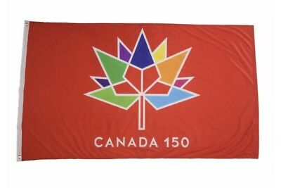 canada 150 year anniversary 1867 2017 red 3 x 5 feet flag banner brand new