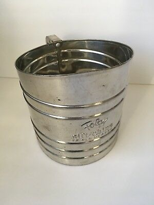 Vintage Foley Sift-Chine Triple Screen Flour Sifter