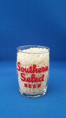 Southern Select Beer - barrel glass