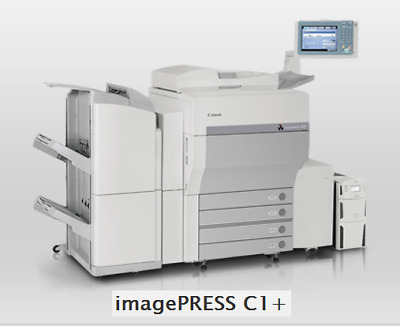 CANON ImagePRESS C-1 COPIER PRINTER HIGHEST QUALITY COLOR and B/W Multi Drawer
