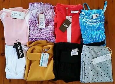 Ladies bulk clothing size 8 boohoo,valleygirl,maxim,bcbgenerations,temt,target