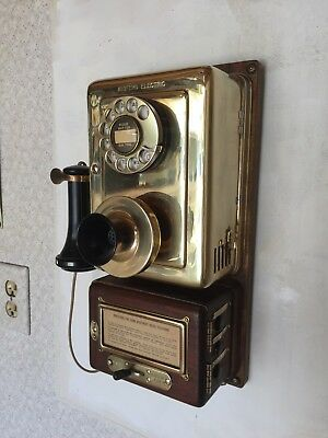 Vintage Western  Electric Wall, Apartment Telephone,