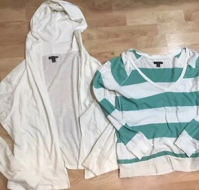 American Eagle Women's Lot Of 2 X Large Tops