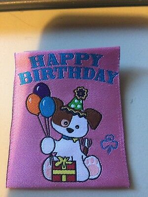 Girl Guides / Scouts Happy Birthday Dog