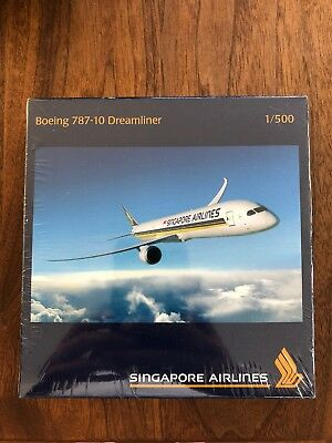 Singapore Airlines 787-10 Dreamliner 1:500