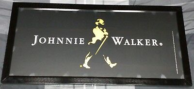 Johnnie Walker Black Label Whisky 2002 Home Decor Sign Bar / Tavern Man Cave New
