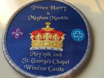 Girl Guides / Scouts Harry and Meghan