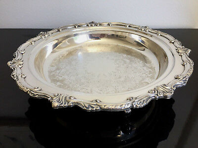 Beautiful Vintage Eton Sheffield Silver Plated Platter/Tray, made in U.S.A.