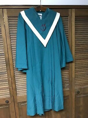 Green robe with stole Church Vestments Clergy Pastor Pulpit