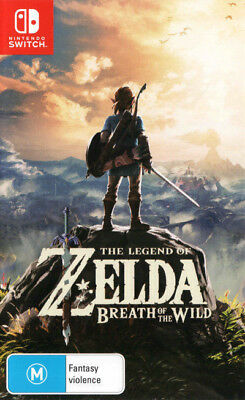 The Legend of Zelda: Breath of the Wild Nintendo Switch As New