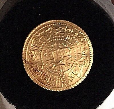 Rare Ottoman Sultan Mustafa IV Gold Sultani Coin 1808 Only ruled 1 year