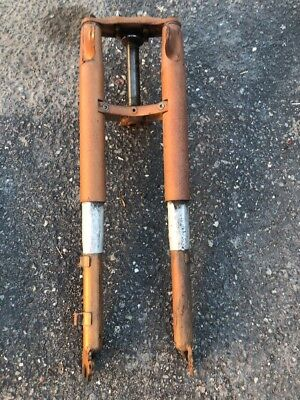 Harley Aermacchi M65 Leggaro M50 Front End Forks  Amf Ears Triple Clamps