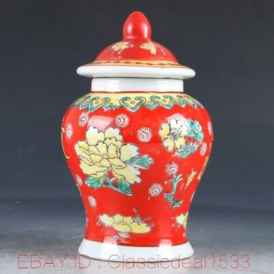 Chinese Porcelain Hand-carved Flower Pot W Qianlong Mark MY0337