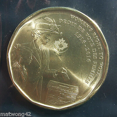 CANADA 2016 LOONIE PACK Circulation $1 Coins Women's Right to Vote 100th SEALED