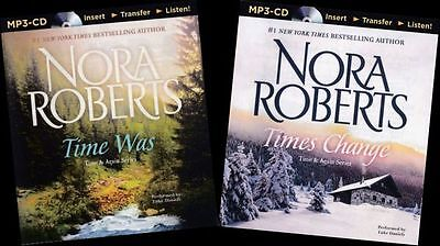 Nora ROBERTS / TIME WAS and TIMES CHANGE (2 complete novels)   [ Audiobook ]