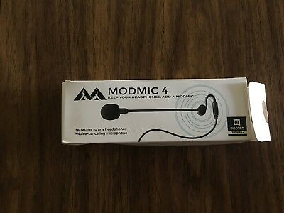 Antlion Audio ModMic 4 Modular Attachable Boom Microphone without Mute Switch