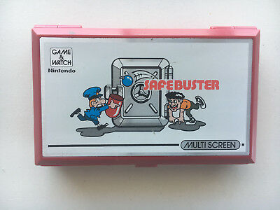 Safe Buster Game and Watch