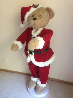 Christmas Singing Santa bear