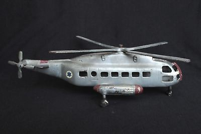 Vintage Handmade Old Helicopter Model - Israel Air Force, Military Collectibles