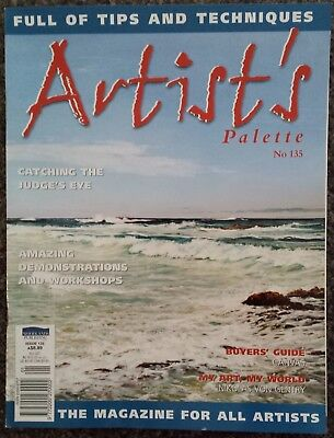 Artist's Palette Magazine No.135 Full of Tips and Techniques