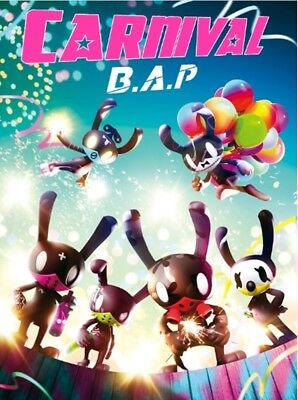 B.A.P 5th Mini Album [CARNIVAL] Special CD+P.Book+P.Card+M.Poster+Standing Photo