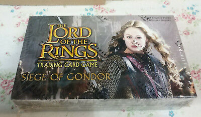 LORD OF THE RING TCG Seige of Gondor 36 Booster Packs Box! NEW! SEALED!