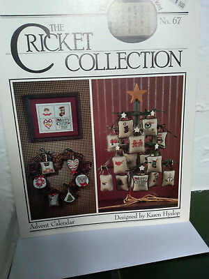 "Stickvorlage THE CRICKET COLLECTION Nr. 67  ""Advent Calendar"""