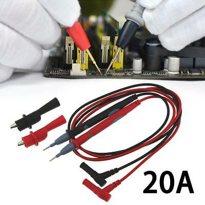 20A Electronic Automotive Test Lead Digital Multimeter Alligator Clip Probe Kit